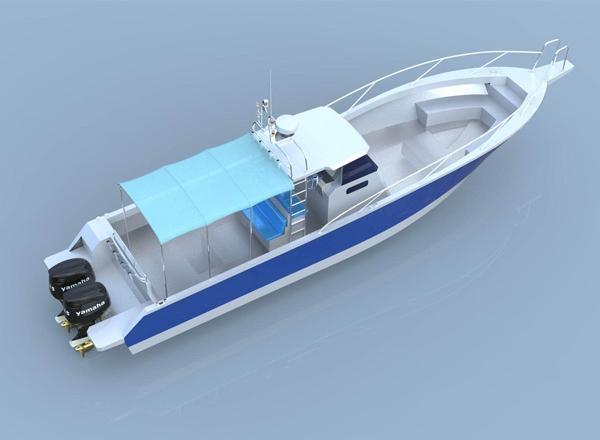 12米鋁合金艇